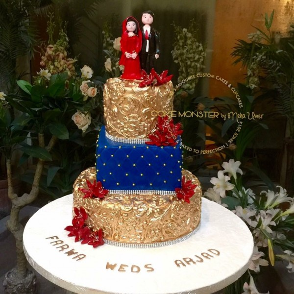 Wedding Figure Cake