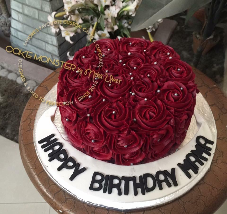 Cake Monster Lahore Red Velvet Delight