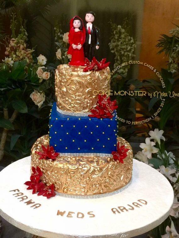 Wedding Figure Cake